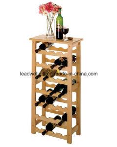 Wood 28-Bottle Wine Rack Wine Bottle Holder pictures & photos
