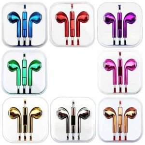 Wholesale Genuine Quality Metallic Stereo Headphone Earphone