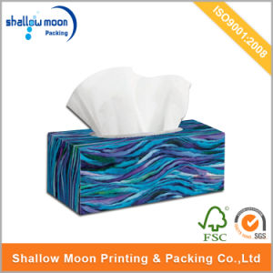 Customized Cheap Printing Folding Tissue Paper Box (QYCI15169) pictures & photos