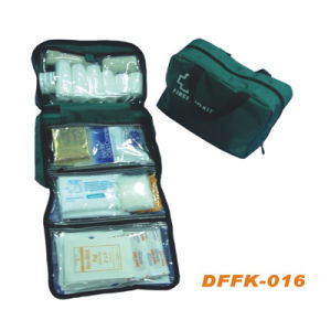 Green Color First Aid Kit & Travel First Aid Bag (DFFK-016) pictures & photos
