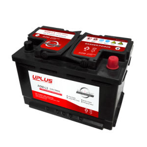 AGM-L3 Factory Directly Sale AGM Star-Stop Automotive Batteries (12V 50ah) pictures & photos
