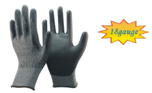 Cut Resistant PU Coated Gloves, Protect Gloves, Safety Gloves pictures & photos