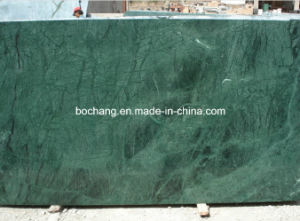 Chinese Polished Green Marble Slab for Decoration Material pictures & photos
