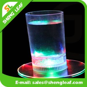 LED Custom Acrylic Coaster for Promotion (SLF-LC004) pictures & photos