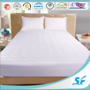 Peach Skin Soft Microfiber Mattress Protector pictures & photos