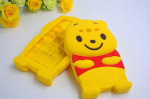 Cute Large Belly Winnie Soft Silicone Phone Case for Huawei Y6II 65II P8 P8lite P9 (XSD-040) pictures & photos