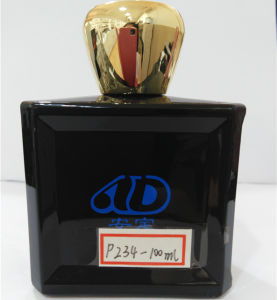Ad-P234 Hot Sale Square Pet Glass Perfume Bottle 100ml pictures & photos