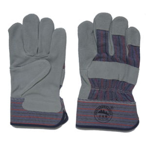 Full Palm Leather Cut Resistant Working Gloves pictures & photos