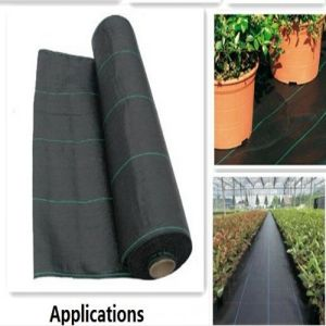 Groud Cover Weed Barrier Woven Fabric pictures & photos