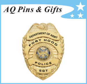 Standard Metal Police Badge for Army in High Quality (badge-229) pictures & photos