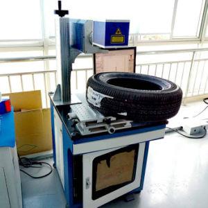 CO2 Laser Marking Machine Mark on Auto Tie pictures & photos
