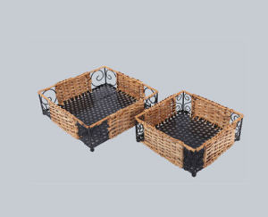 New Design High Quality Cane Basket pictures & photos