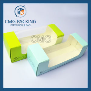 PVC Transparent Window Cake Box with Printing (CMG-cake box-018) pictures & photos