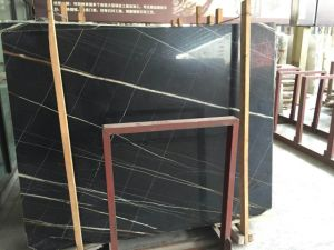 Noir Aziza Marble Slab for Interior Wall pictures & photos
