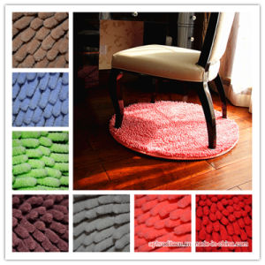 Wholesale Colorful Round Chenille Rug for Chair pictures & photos