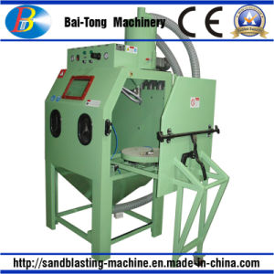Compact Structure Manual Sandblasting Machine pictures & photos