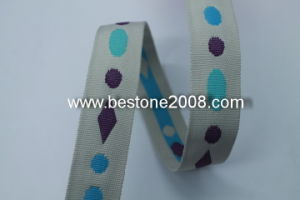 High Quality Polyester Jacquard Webbing Strap 1603-01 pictures & photos