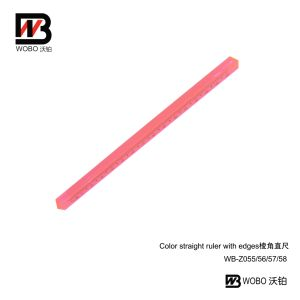 Color Office Stationery Triangle Plastic Ruler 2016 New Style pictures & photos