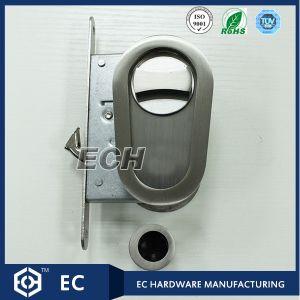 Oval Zinc Alloy and SUS201 Pocket Door Lock (OSLD03)