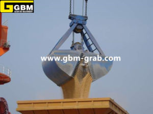Mechnical Four Rope Clamshell Grab with BV Certification pictures & photos
