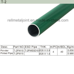 Lean Pipe/Powder Painted Pipe (T-2) pictures & photos