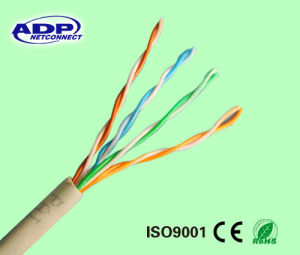 Hcca Conductor Network Cable UTP Cat5e/CAT6 pictures & photos