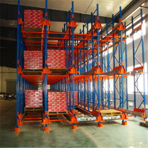 Heavy Duty High Operating Speed Radio Shuttle Racking Pallet Racking System pictures & photos