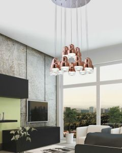 Home Decor Glass LED Pendant Lamps (AD15020-12B) pictures & photos
