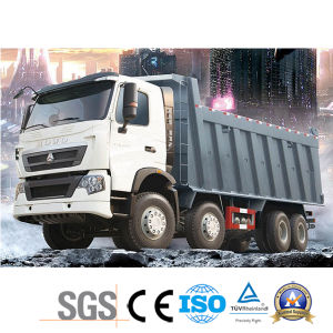 Low Price HOWO T7h 8*4 Dump Truck of Man Technology pictures & photos