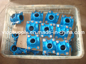 4 Bolts Saddles for PE Pipe pictures & photos