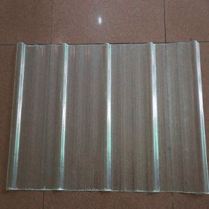1mm Corrugated Polycarbonate Sheet UV Coating pictures & photos
