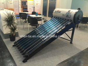 Pressure Solar Water Heater with En12976, Solar Keymark pictures & photos