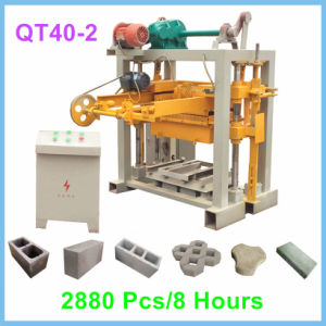 China Fuda Brick Machine Factory Small Concrete Block Making Machine pictures & photos