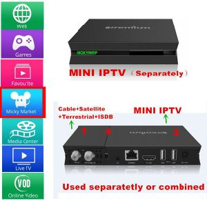 4k Satellite Receiver with Ott / IPTV & Kodi Without Subscription pictures & photos
