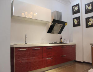Red Line Acrylic Board for Kitchen Shutter