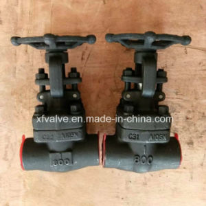 API602 Forged Carbon Steel A105 Thread End NPT Globe Valve pictures & photos