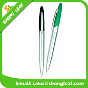 Custom Logo Metal Ball Pen for Promotion Gifts (SLF-JS001) pictures & photos
