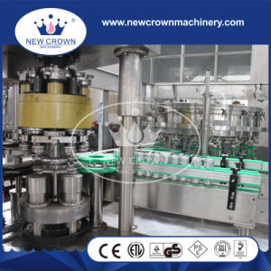 Screw Feeding Type Monoblock 2 in 1 Beer Filling Machine for Aluminum Can pictures & photos