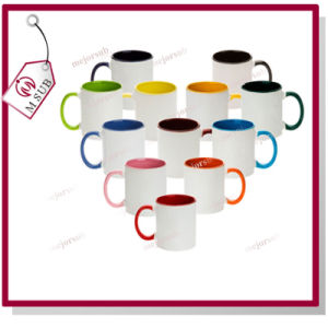11oz Personalized Printed Ceramic Mug with Sublimation Coatings pictures & photos