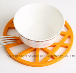 Food Grade Silicone Cup Mat Silicone Bowl Mat Sm25 pictures & photos