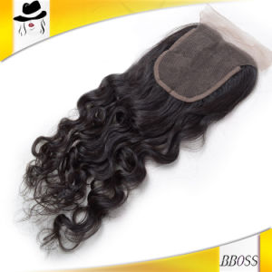 2.5*4 Brazilian Lace Closure of Hair accessory in 2016 pictures & photos