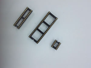 2.54mm Dual-in-Line Pin Header Straight DIP IC Socket pictures & photos