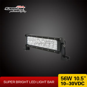 "New Exclusive Mix Rows 10.5"" 56W LED Light Bar pictures & photos"