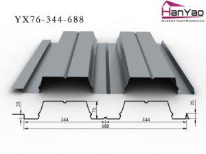 2015 New Galvanized Corrugated Steel Floor Deck Yx76-344-688 pictures & photos