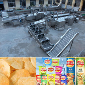Fully Automatic Fresh Potato Chips Production Line pictures & photos