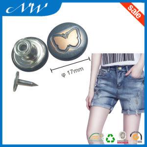 Hot Sale Fashion Metal Shank Buttons Jeans Button