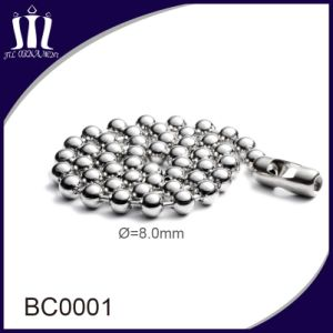 High Quality Decorative Jewelry Iron Ball Beaded Chain pictures & photos