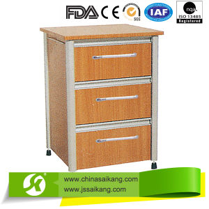 Aluminum Alloy & Laminated Board Bedside Cabinet pictures & photos