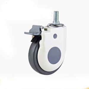"""3""""Medical Wheels Castor Furniture Wheels Screw Castor Double Bearing Caster Swivel Caster with Brake pictures & photos"""