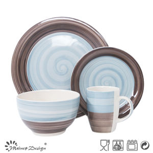 Hot Sale New Design Handpainted Ceramic Dinnerware pictures & photos